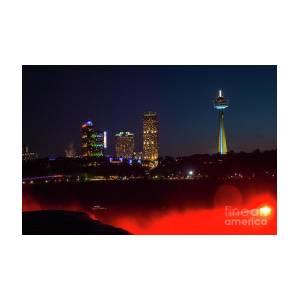 Niagara Falls Canada At Night