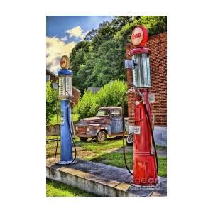 Old Time Vintage Gas Pumps by Dan Carmichael