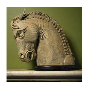 Persian Horse From Persepolis Sculpture By Goran