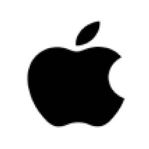 Pixelated Apple Logo