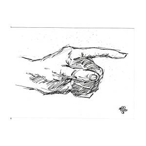 pointing hand drawing by mohd raza ul karim pointing hand drawing by mohd raza ul karim