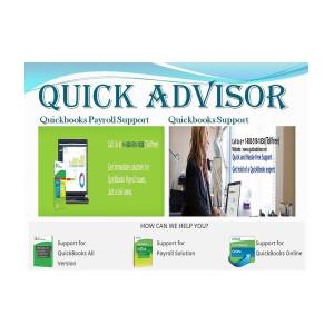 Quickbooks Payroll Support Number - Quick Advisor by Marie Rose