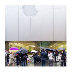 Rip Steve Jobs October 5 2011 San Francisco Apple Store Memorial