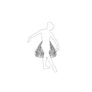 Simple Lines Ballerina Digital Art By Zoe Strawbridge
