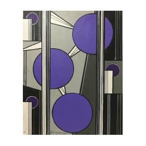 Spaceballs In Purple By James K Nelsen