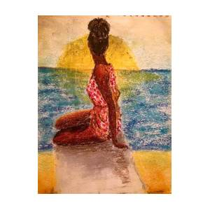 Sunset My Sis Painting By Fredson Santos Silva