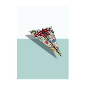 e116c8423d05 Terrific Ten Comic Book Ad Paper Airplane Digital Art by YoPedro