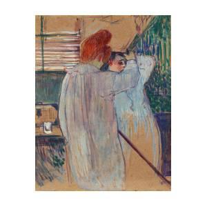 Women Combing Their Hair - Two Women Dressing Nightshirts by Henri de  Toulouse-Lautrec 6b72f6a58
