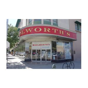 Woolworth's Bakersfield by Matthew Bamberg