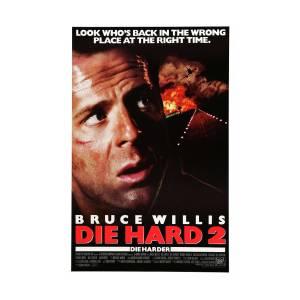 Bruce Willis In Die Hard 2 1990 Photograph By Album