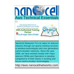 Aws Authorized Training Partner In India by NanoCell Networks Pvt Ltd