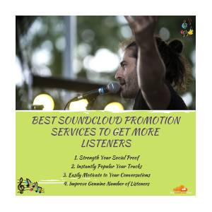 Best Soundcloud Promotion Services To Get More Listeners by Sandra Anderson