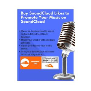 Buy Soundcloud Likes To Promote Your Music On Soundcloud by Max Be