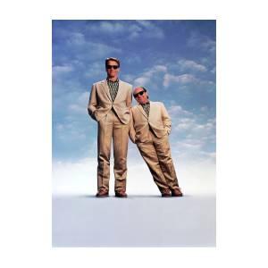 Danny Devito And Arnold Schwarzenegger In Twins 1988 Photograph By Album