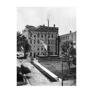 Factory Of Eastman Kodak Company By Bettmann