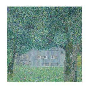 Klimt Farm House in Buchberg Huge A0 84x118.8cm Canvas Print Unframed