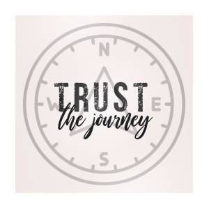 Just Trust Quote Photograph By Jamart Photography