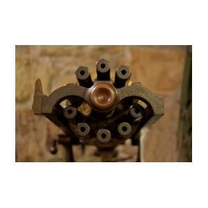 Military 10 Gatling Gun Barrels by Thomas Woolworth