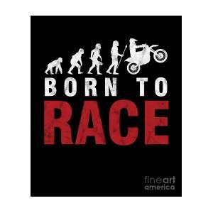 Born To Ride Motorbike Biker Shopping Tote Bag Ladies Gift