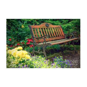 Awesome Old Bench In The Garden Cjindustries Chair Design For Home Cjindustriesco