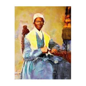 Sojourner Truth Painting by Wayne Pascall