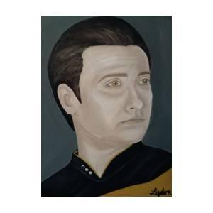 Star Trek Tng Data by Denise Lydon