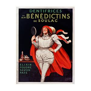 Pate Dentifrice Paris Vintage French France Poster Picture Print Advertisement