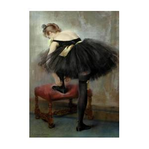 The Dancer, 1890 Painting by Pierre Carrier-Belleuse