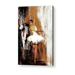 decc2155dc8c26 Ballerina Dance Shoes Art Acrylic Print by Gull G