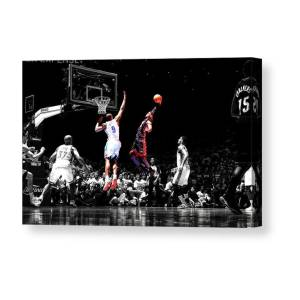 2440b97e86ce Lebron James Witness Canvas Print   Canvas Art by Brian Reaves