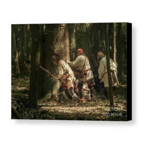 Forest Ambush Canvas Print Canvas Art By Randy Steele