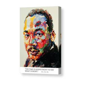 Martin Luther King Canvas Wall Art Picture Print Decoration 5 Sizes Choose