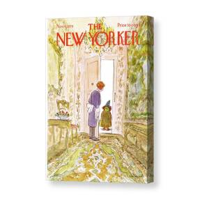 New Yorker October 31st, 2011 Canvas Print / Canvas Art by ...