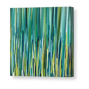19b36fd8043 Regal Vibrancy- Peacock Paintings Canvas Print   Canvas Art by ...