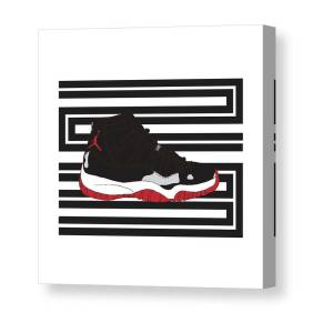 444b434a7f83 Jordan 1 Chicago Canvas Print   Canvas Art by Letmedraw Yourpicture