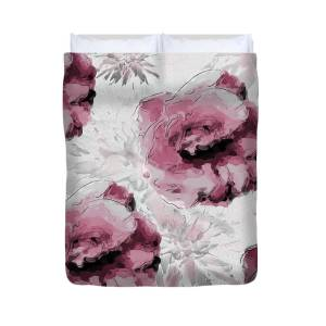 Queen Anne Duvet Cover For Sale By Poppy Pod Contemporary