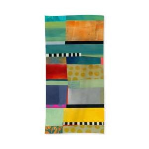 Stripes And Dips 2 Hand Towel For Sale By Jane Davies