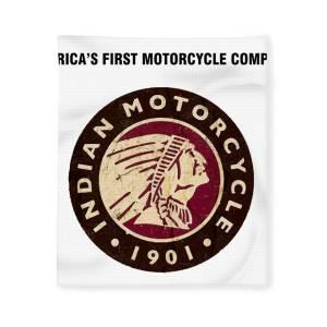 Indian Motorcycle 1901 Rund Kühlschrank Magnet 75mm Durchmesser De