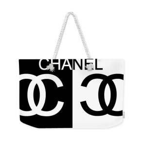 960bfee07b4 Black And White Chanel 2 Weekender Tote Bag for Sale by Dan Sproul