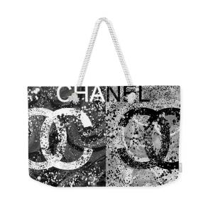 dc0098ca3d4 Black And White Chanel Art Weekender Tote Bag for Sale by Dan Sproul