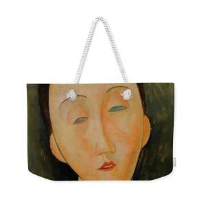 d8d9ba47bd0 Lunia Czechwska Amedeo Modigliani 1918 Weekender Tote Bag for Sale by Movie  Poster Prints