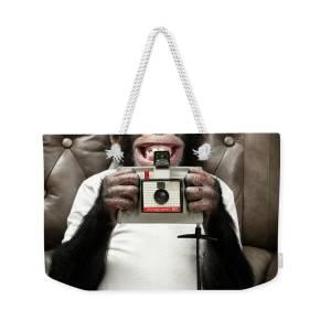 Monkey Selfie Weekender Bag