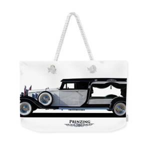 Prinzing Funeral Hearse Weekender Tote Bag for Sale by Nick Gray