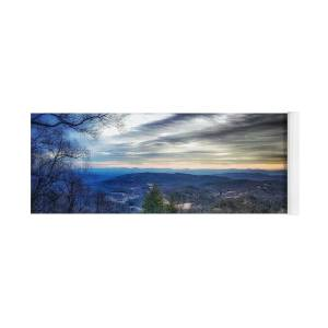 Moravian Falls Frozen - Jan 2018 Yoga Mat for Sale by Terry