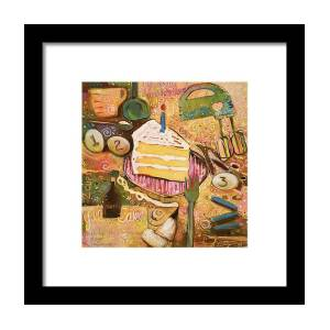 Calaveras Azucar Y Pan Dulce Framed Print by Jen Norton 42e527126f0ed