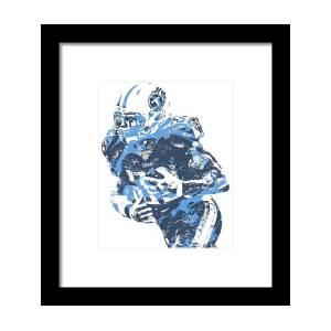 00f8c436 Derrick Henry Tennessee Titans Pixel Art 13 Framed Print by Joe Hamilton