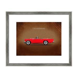 or framed canvas or with frame Rogan Mark Ford Mustang Boss302 1969 Print on Paper Poster or canvas