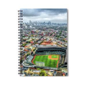 Chicago Holy Name Cathedral Organ Spiral Notebook for Sale