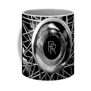 566f32b2e Pocket Watch Coffee Mug for Sale by Joseph Skompski. Rolls Royce - Black  And White Coffee Mug for Sale by Joseph Skompski