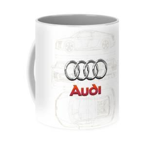 A-u-d-i A.3 8.v Classic Mug